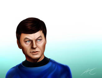 STAR TREK TOS McCoy by xByDefault