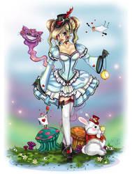 Lolita Alice in Wonderland by NoFlutter