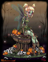 Zombie Tinkerbell by NoFlutter
