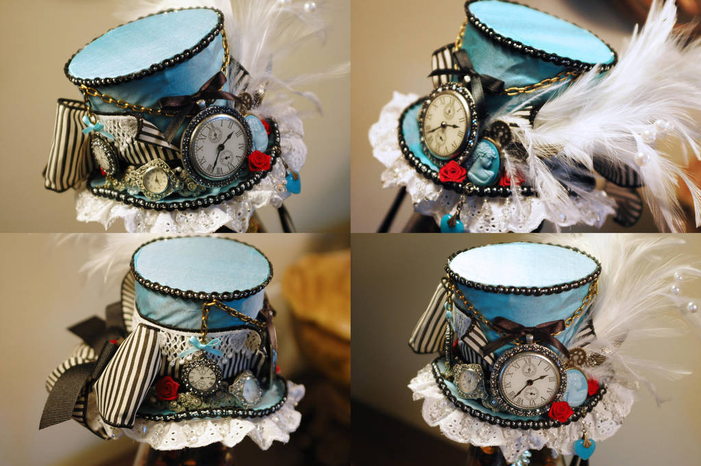 f8bf29ce13e Steampunk Alice Mini Top Hat by NoFlutter on DeviantArt