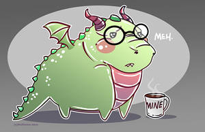 Ornery Dragon by NoFlutter
