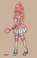 Cupcakepunk Sketch by NoFlutter