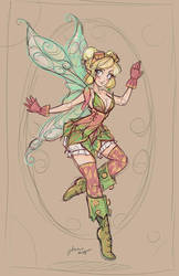 Tinkerbelle Sketch by NoFlutter