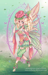 Spring Fairy by NoFlutter