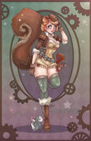 Squirrel Girl by NoFlutter