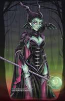 Maleficent Redesign by NoFlutter