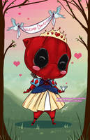 Deadpool Princess by NoFlutter