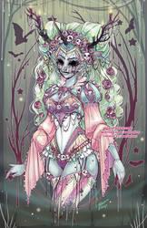 Dead Unicorn Halloween 2018 by NoFlutter
