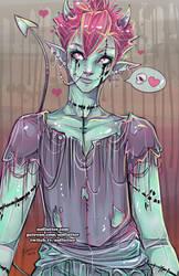 Demon Ghoul Boy by NoFlutter