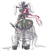Lolita Mad Hatter by NoFlutter