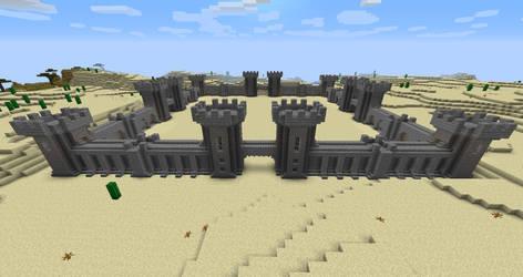 Castle Courtyard (Day Mode) by 3xc4l1bur