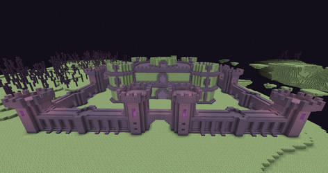 End Fortress + End Castle WIP by 3xc4l1bur