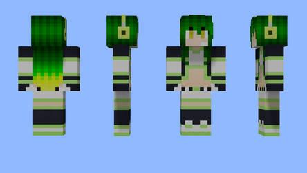 Ryoko Akiyano Minecraft Skin by 3xc4l1bur