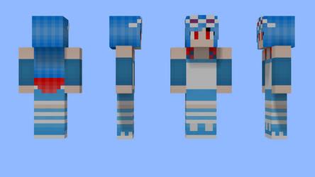 Airiko Hotaru Minecraft Skin by 3xc4l1bur