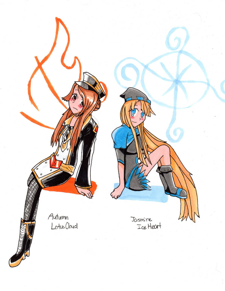 Wizard101 Fire And Ice Wizards By Khrisanthemum On Deviantart