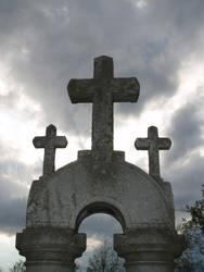 S.S. 3 Crosses by shudder-stock
