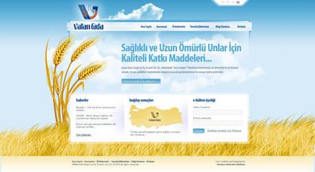 Vatan Gida Web Design by ThanRi