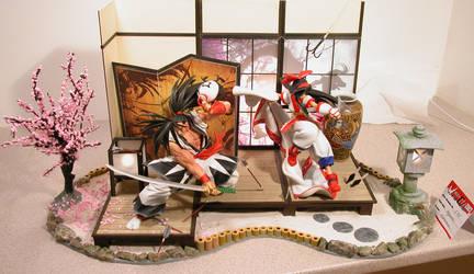 Samurai Spirits Diorama 01 by ogamitaicho