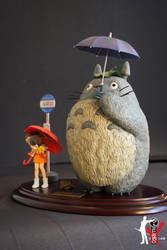 Totoro Bus Stop 1 by ogamitaicho