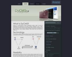 DyCMS Web Mockup by macduy