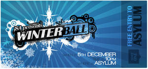 Winter Ball Ticket by macduy