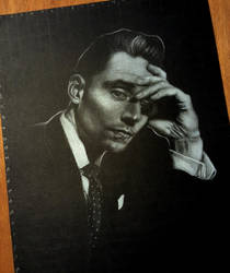 Tom Hiddleston by MissKuney