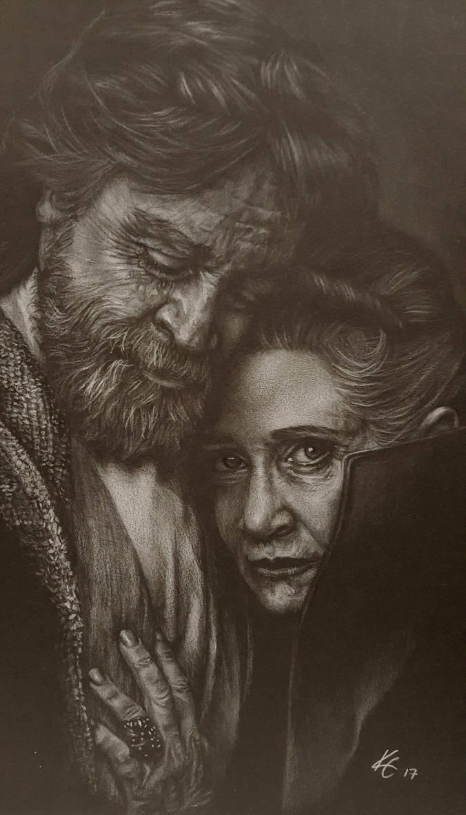 Luke  Leia by MissKuney
