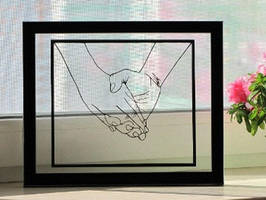 Holding Hands Handmade Original Papercut by DreamPapercut