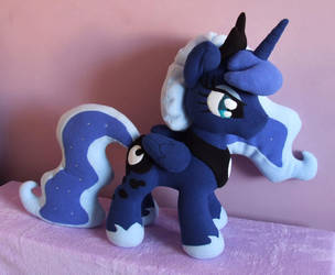 Princess Luna MLP plushie by adamar44