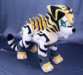 Tigrerra from Bakugan plushie by adamar44
