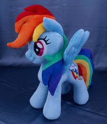 Rainbow Dash MLP plushie by adamar44