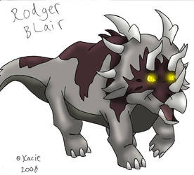 Rodger by Bluedramon