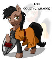 The Couch Crusader by Acesential