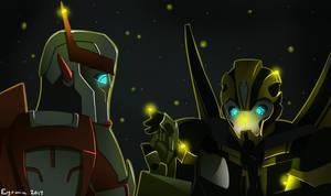 Fireflies by Eyrmia