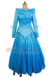 Princess-aurora-ballerina-blue-dress-costume by moviescostume