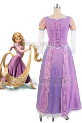 Disney-film-tangled-princess-rapunzel-dress by moviescostume