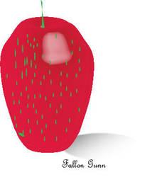 3D Strawberry by F0ggi
