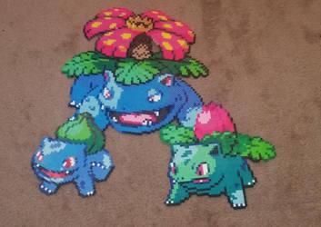 Bulbasaur Evolution by F0ggi