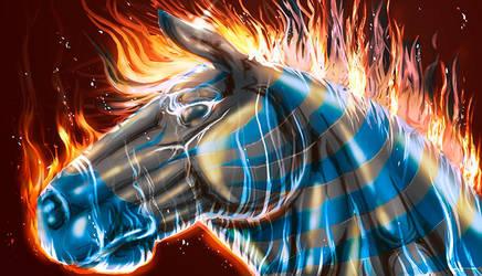 Business Card Art - V.1 by Pegasus316