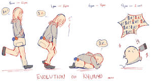 Meet the artist! by kyunyo