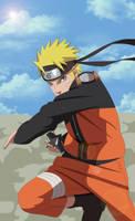 Naruto Shuriken Attack by DarkFlameDragon