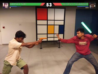 Round 1. FIGHT!!! by bigomega