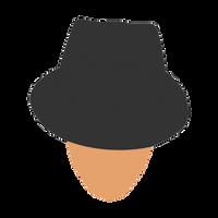 Mr. Fancy Hat - Minimalistic by bigomega