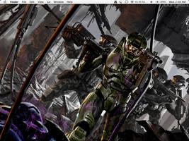 Halo desktop by Kohaku-Kun