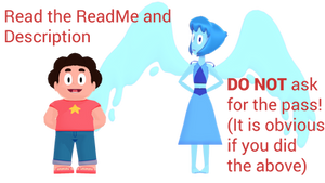 MMD Steven and Lapis Lazuli DL RETURNED by McChipy