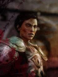 Dragon Age: Cassandra by olivegbg