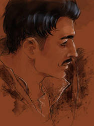 Dragon Age: Dorian profile by olivegbg
