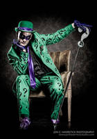 The Riddler by smile-xvillainco