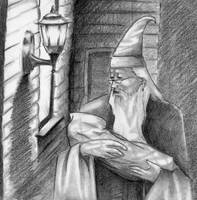 Dumbledore by Aillie