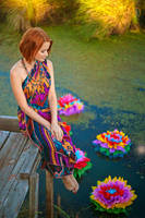 Fantasy flowers by lesyakikh
